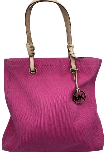 Item - Shopping XL Fabric Pink Canvas Tote