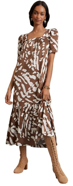 Item - Brown New Maeve Lisabetta Casual Maxi Dress Size 6 (S)