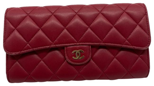 Item - Quilted Flap Wallet