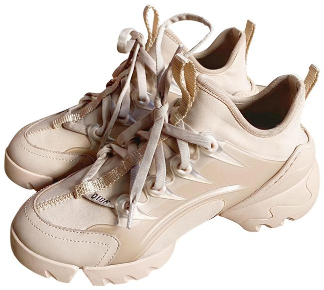 Item - Nude D-connect Technical Fabric Beige Trainer Sneakers Size EU 36 (Approx. US 6) Regular (M, B)