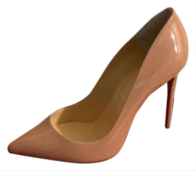 Item - Nude Pigalle Follies 100 Patent Pumps Size EU 37.5 (Approx. US 7.5) Regular (M, B)