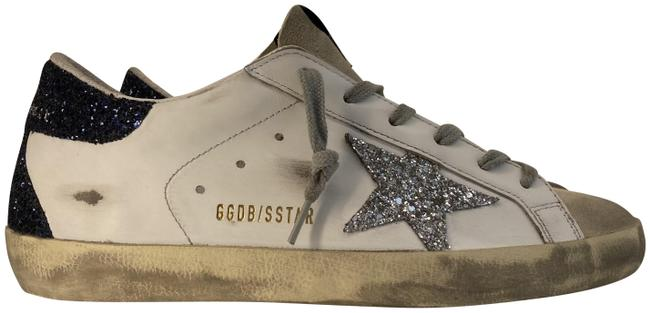 Item - White/Beige Super-star Classic with Spur & New Leopard Laces Sneakers Size EU 38 (Approx. US 8) Regular (M, B)