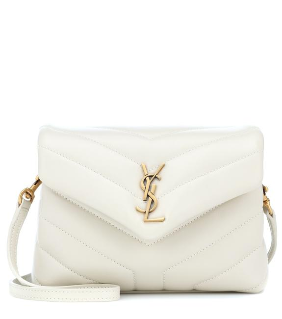 Item - Monogram Loulou Toy White Lambskin Leather Cross Body Bag