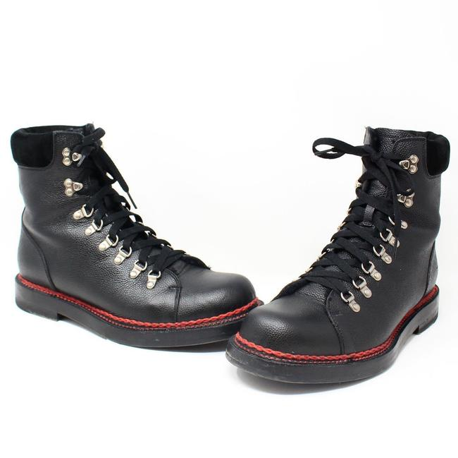 Item - Black Pebbled Leather Ankle Boots/Booties Size US 9.5 Regular (M, B)