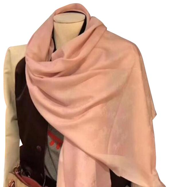 Item - Light Pink Blush New Wool Signature Horse and Carriage Shawl Scarf/Wrap
