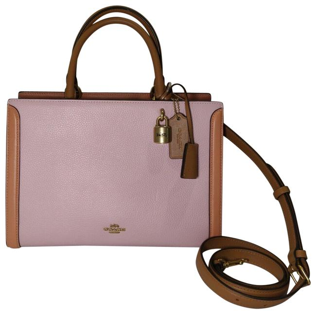 Item - Carryall Zoe 693 In Colorblock Blossom Multi Leather Satchel