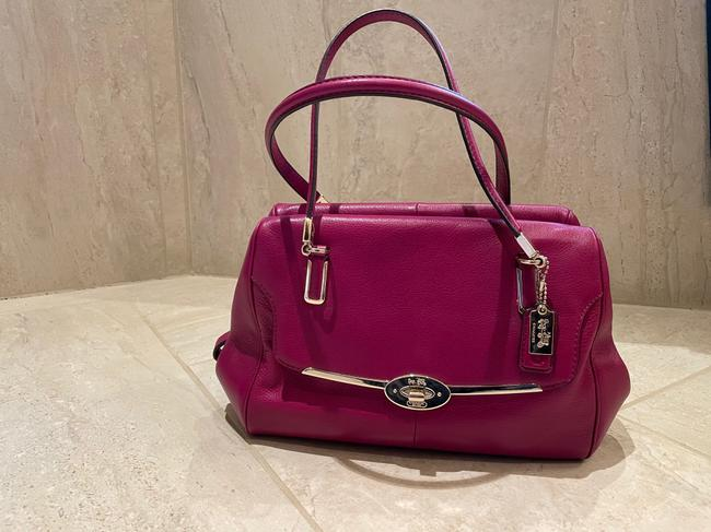 Item - Burgundy Leather Satchel