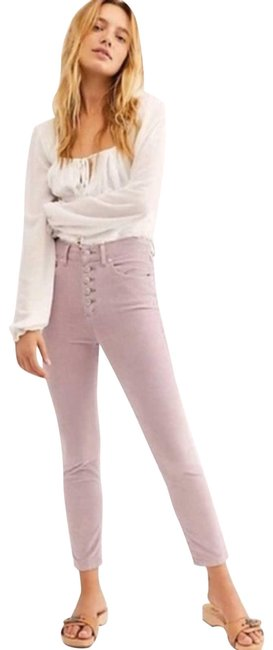Item - | Lilac Sun Chaser Crop Skinny Activewear Bottoms Size 8 (M, 29, 30)