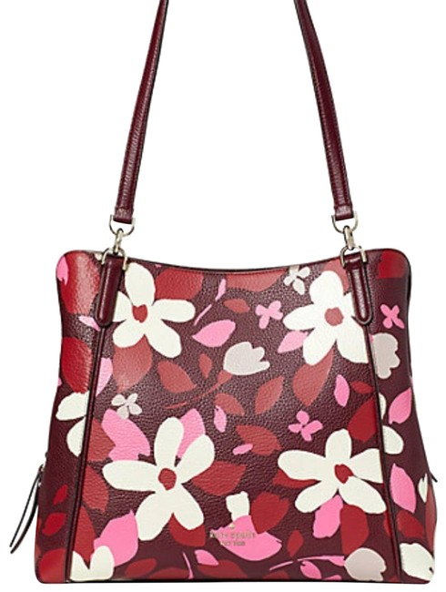Item - New Jackson Med Triple Compartment Pink Leather Shoulder Bag