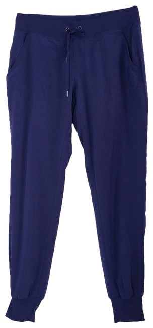 Item - Blue Navy Lined City Joggers Activewear Bottoms Size 0 (XS, 25)