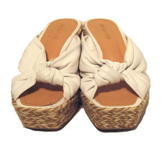 Sergio Rossi White Wedges