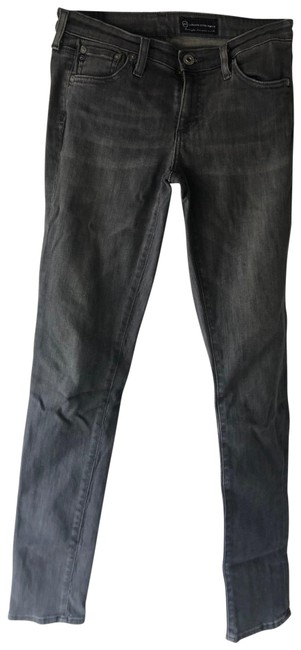 Item - Gray Coated Skinny Jeans Size 4 (S, 27)