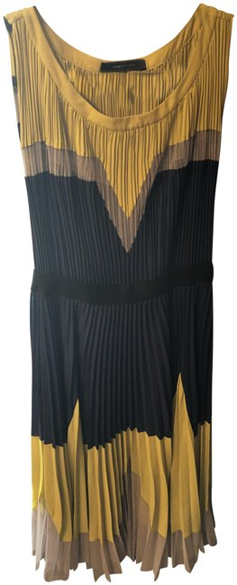 Item - Navy Bcbg Colorblock Mid-length Casual Maxi Dress Size 4 (S)