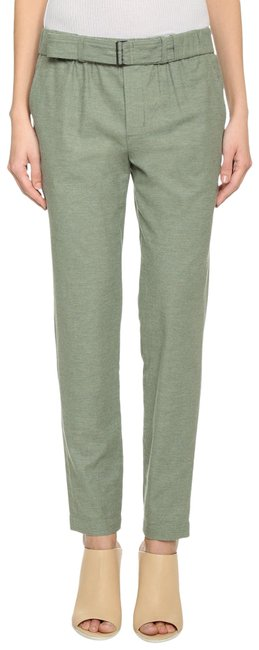 Item - Green Belted Soft Pants Size 4 (S, 27)