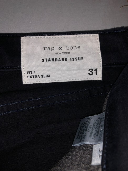 Rag & Bone Blue (5) Pairs Of and Mens Denim Buy One Get 2nd At 50% Off Straight Leg Jeans Size 10 (M, 31) Rag & Bone Blue (5) Pairs Of and Mens Denim Buy One Get 2nd At 50% Off Straight Leg Jeans Size 10 (M, 31) Image 6