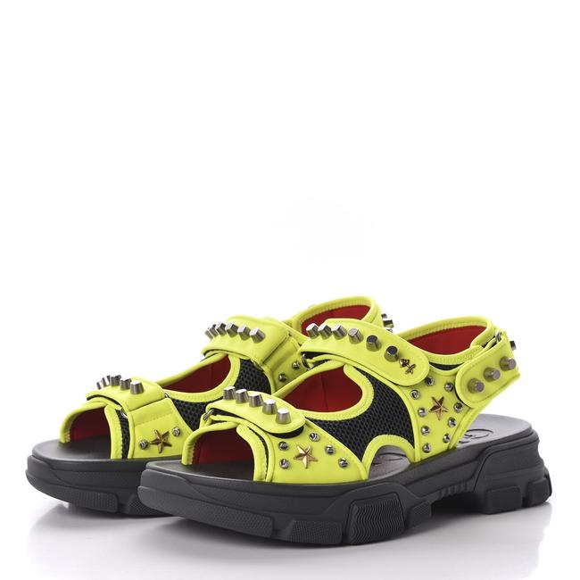 Item - Yellow Aguru Sandals Neon 546212 Size 12/ 13 Shoes