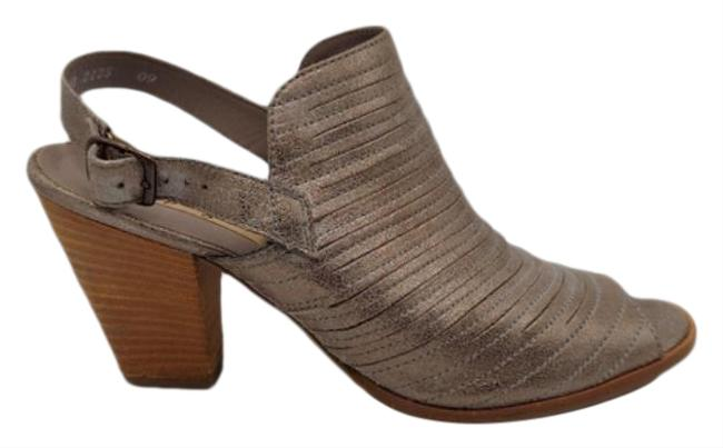 Item - Gray Waverly Leather Slingback Boots/Booties Size US 6 Regular (M, B)