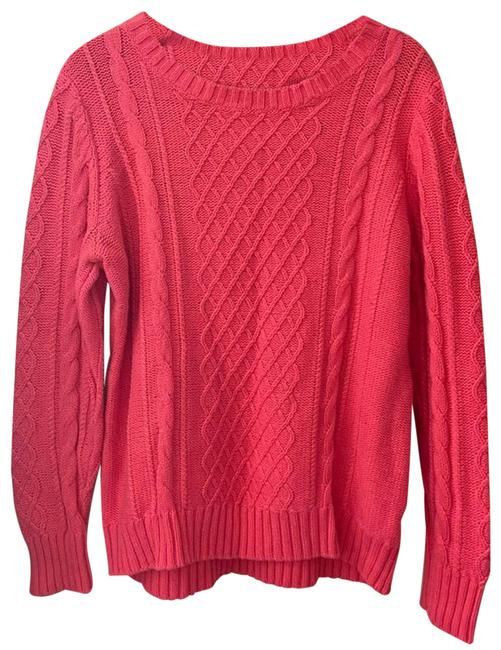Item - Cable Knit Extra Large Pink Sweater