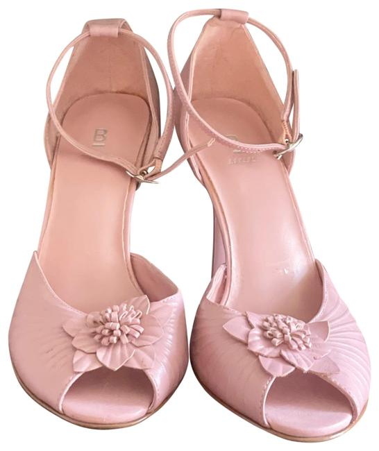 Item - Pink Formal Open Toe Pumps Size US 8 Regular (M, B)