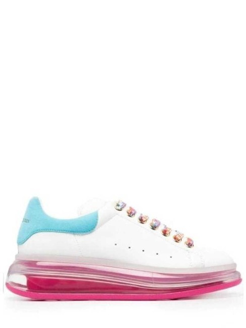 Item - White Oversized Sneakers Size EU 39 (Approx. US 9) Regular (M, B)