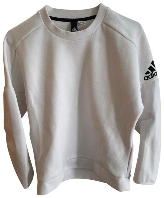 Item - White Double Faced Cotton Sweatshirt/Hoodie Size 8 (M)