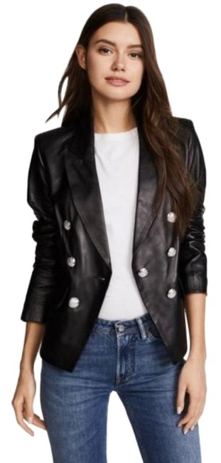 Item - Black Silver Cooke Dickey Jacket Size 4 (S)