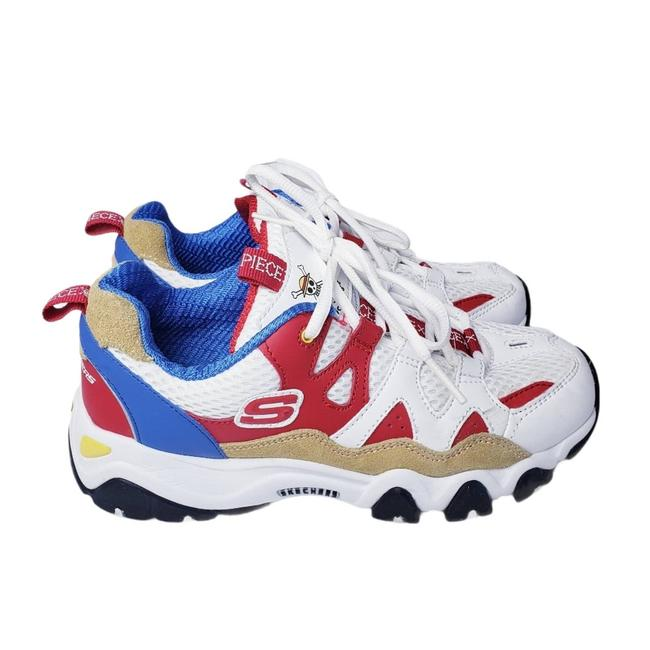 """Item - Red One Piece """"Luffy"""" D'lites Sneakers Size US 6 Regular (M, B)"""