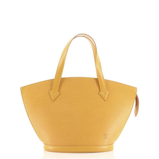 Item - Saint Jacques Handbag Epi Pm Yellow Leather Tote