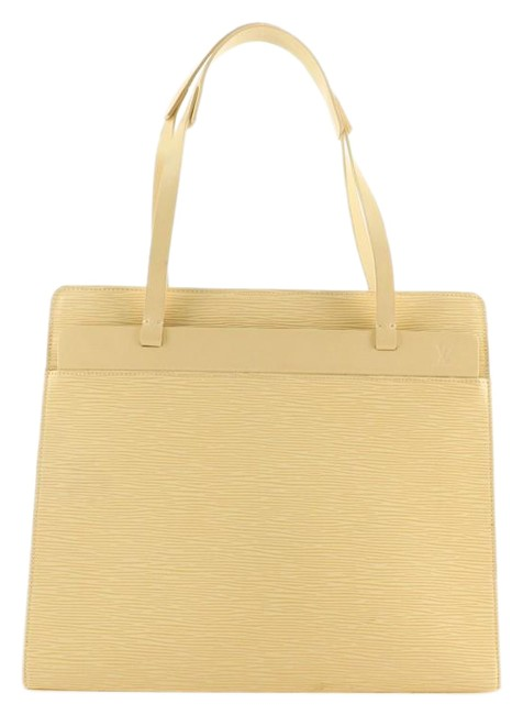 Item - Croisette Handbag Epi Pm Yellow Leather Tote