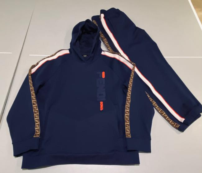 Item - Navy Men's Jogging Track Suit Blue B318 Activewear Size 20 (Plus 1x)