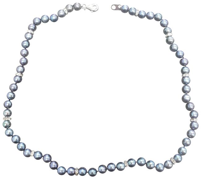 Item - Midnight Spell Black Pearl With Matching Earrings - New Necklace