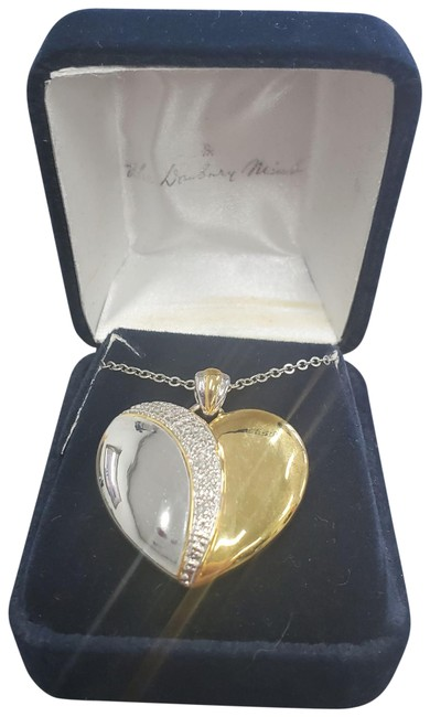 Item - Gold and Silver Always My Daughter Diamond Journey Pendant Necklace