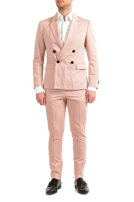 """Item - Powder Pink Men's """"California2/Star2_rw"""" Us 44r It 54r Pant Suit Size OS (one size)"""