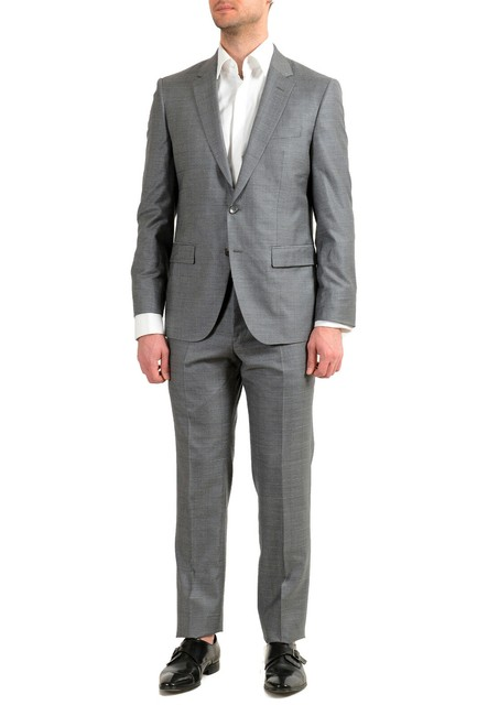 """Item - Gray Men's """"T-harvers4/Glover3"""" Us 34r It 44r Slim Fit Silk Pant Suit Size OS (one size)"""