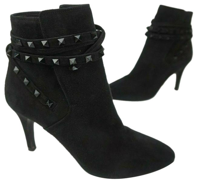 Item - Black Suede Flair Studded Rockstud Women's Boots/Booties Size EU 39 (Approx. US 9) Regular (M, B)