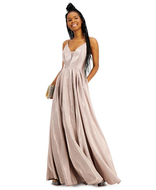 Item - Rose Juniors' Sparkle Plunge Ball Gown 9/10 Long Formal Dress Size 8 (M)