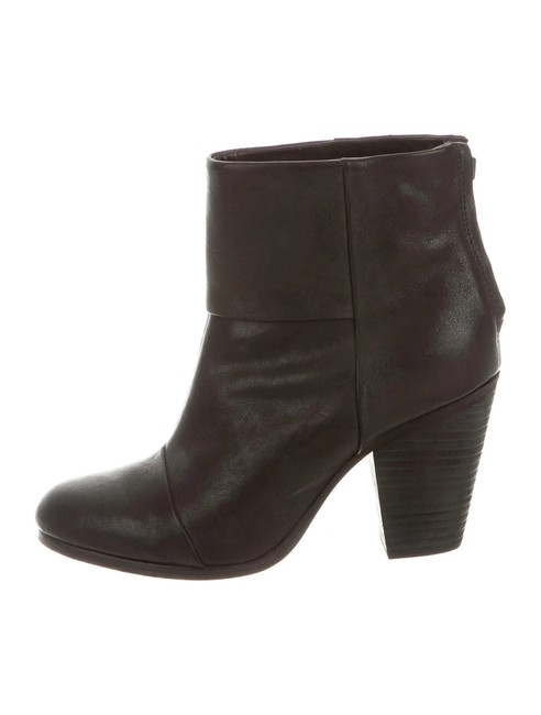 Item - Black Classic Newbury Leather Ankle Boots/Booties Size US 9 Regular (M, B)