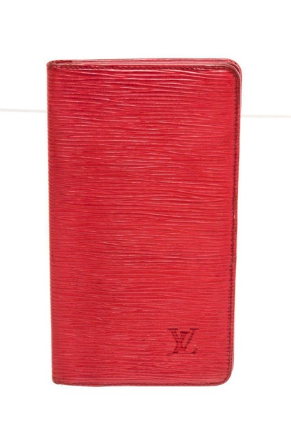Item - Red Leather Long Card Wallet