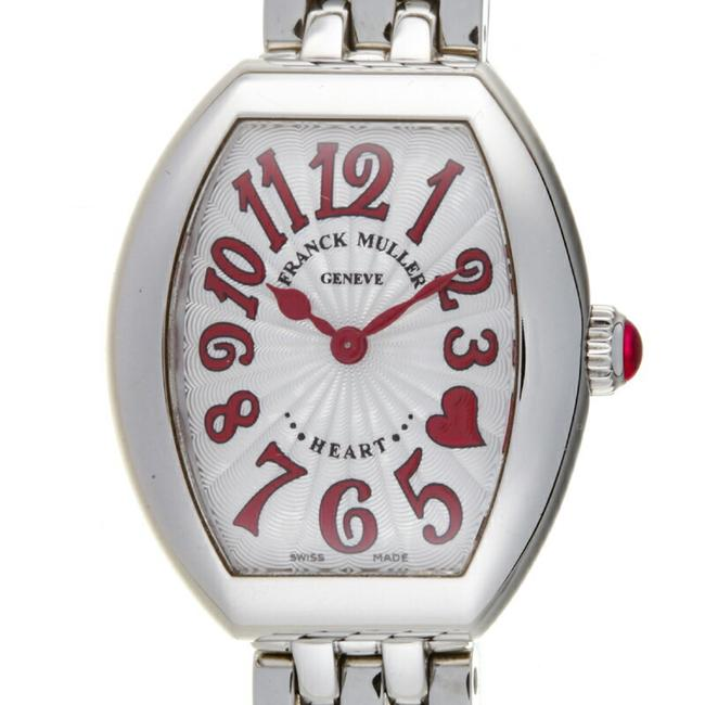 Item - Heart To Ladies 5002 S Qz C4hjred Stainless Steel Silver Arabian Dial Watch