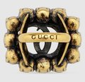 Gucci Red Gold Gg Logo Flower Crystals Antique 6 Ring Gucci Red Gold Gg Logo Flower Crystals Antique 6 Ring Image 6