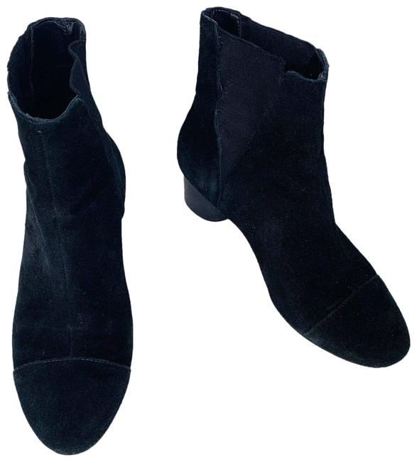 Item - Black Izette Ankle Kid Suede Boots/Booties Size US 7 Regular (M, B)