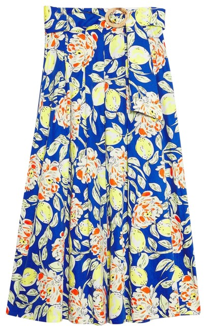 Item - Blue New Hunter Bell Gwyneth Belted Skirt Size 0 (XS, 25)