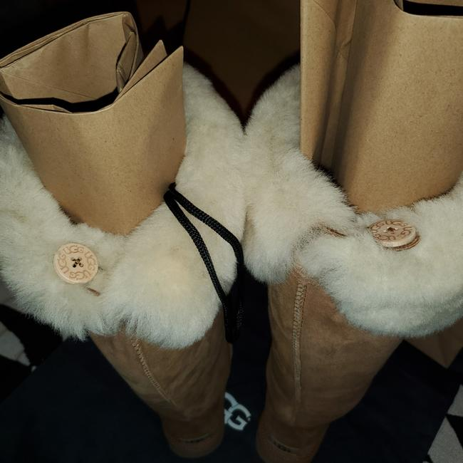 Item - Chestnut Bailey Button Over The Knee Boots/Booties Size US 11 Regular (M, B)