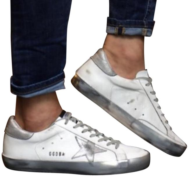 Item - White Superstar Sneakers Size EU 38 (Approx. US 8) Regular (M, B)