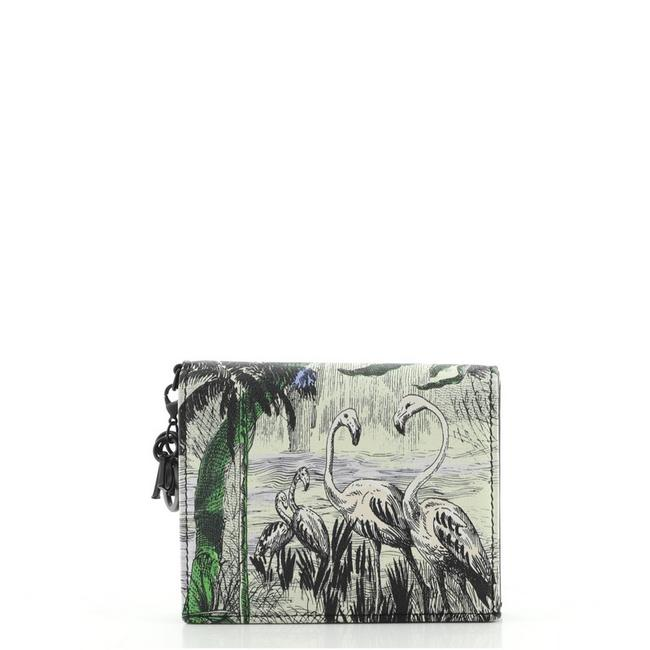 Item - Print Toile De Jouy Card Case Printed Leather Wallet