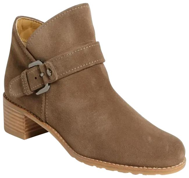 Item - Tan Taupe Dude Suede Buckled Boots/Booties Size US 9 Regular (M, B)