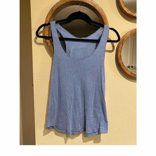 Item - Blue Workout Tank Like New Activewear Top Size 8 (M)