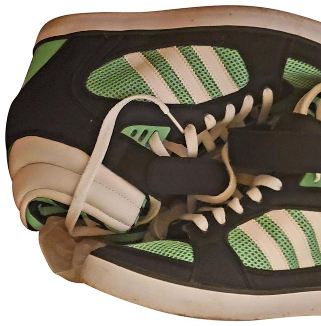 Item - Green Black and White Amberlight Sneakers Size US 11 Regular (M, B)