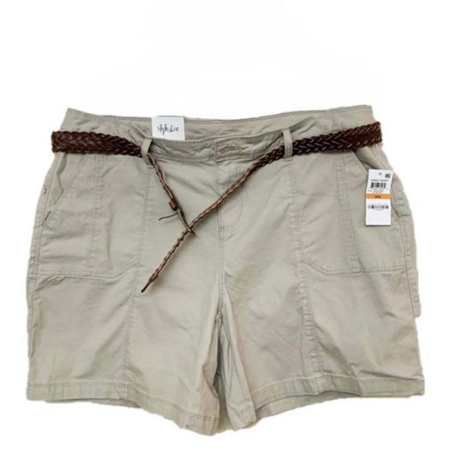 Item - Tan Co. Mid Rise Chino Bermuda Shorts Size 16 (XL, Plus 0x)