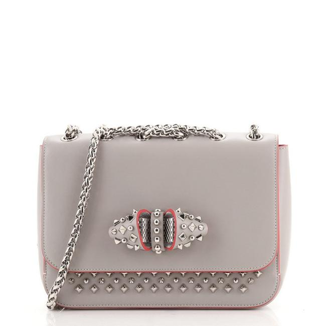Item - Sweet Charity Small Gray Leather Cross Body Bag